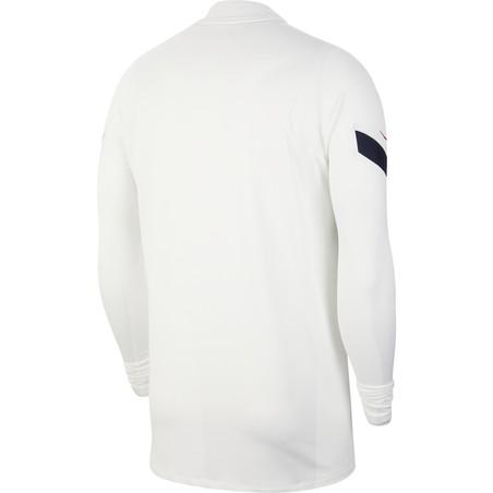 Sweat zippé Equipe de France blanc 2020/21