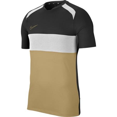 Maillot entraînement Nike Academy noir beige 2019/20