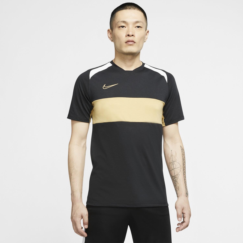 Maillot entraînement Nike Academy noir beige 202021