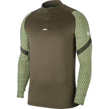 Sweat zippé Nike marron vert 2020/21