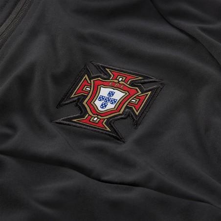 Veste survêtement Portugal Anthem I96 noir 2020