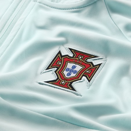 Veste survêtement Portugal I96 bleu 2020