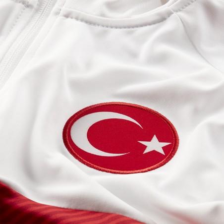 Veste survêtement Turquie I96 blanc rouge 2020