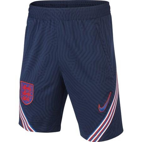 Short entraînement junior Angleterre bleu 2020