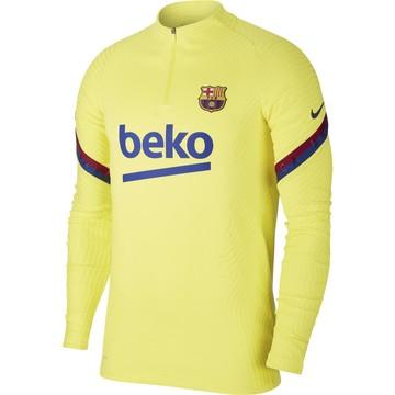 Sweat zippé FC Barcelone VaporKnit jaune 2019/20