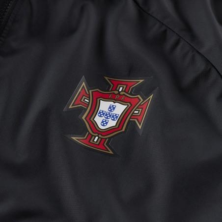 Veste imperméable Portugal noir rouge 2020