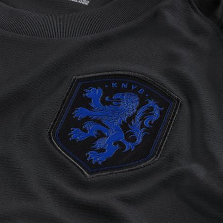 Maillot entraînement junior Pays Bas noir bleu 2020