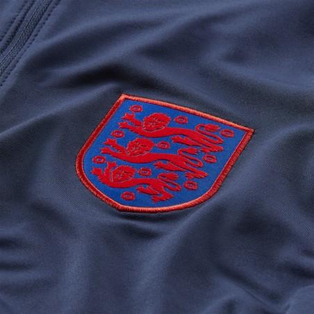 Sweat zippé Angleterre bleu rouge 2020