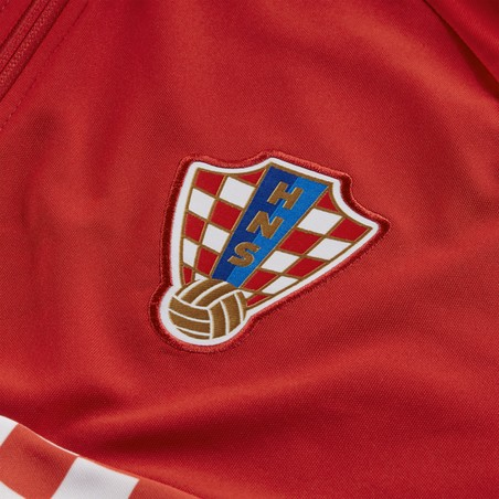 Veste survêtement Croatie I96 rouge 2020