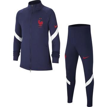 Maillot Ensemble survêtement  équipe de France 2020 Polo Jogging