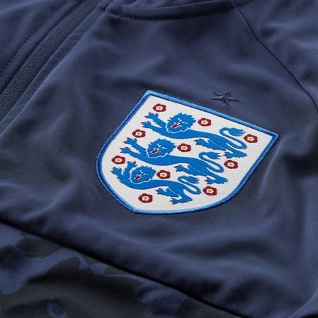 Veste survêtement Angleterre I96 Anthem bleu 2020