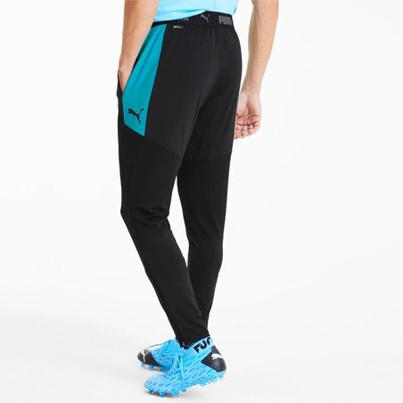 Pantalon survêtement Puma noir bleu 2019/20