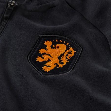 Veste survêtement Pays Bas GFA Fleece noir 2020