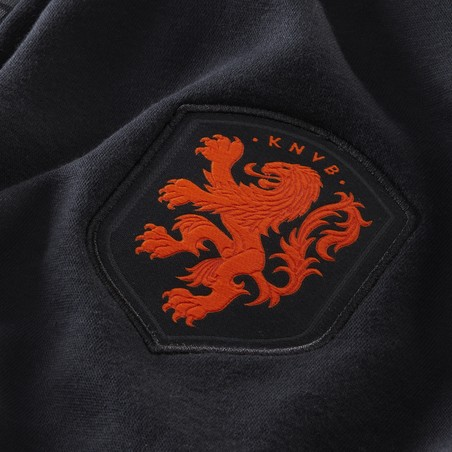 Pantalon survêtement Pays Bas GFA Fleece noir orange 2020