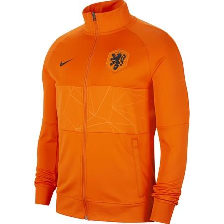 Veste survêtement Pays Bas I96 orange 2020