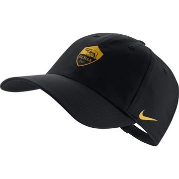 Casquette AS Roma Heritage86 noir jaune 2020/21