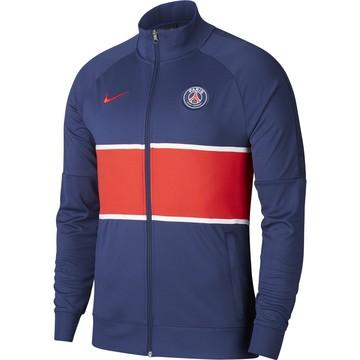 Veste survêtement PSG I96 Anthem bleu rouge 2020/21