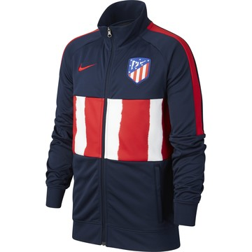 Veste survêtement junior Atlético Madrid I96 Anthem bleu rouge 2020/21