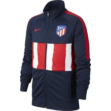 Veste survêtement junior Atlético Madrid I96 Anthem bleu rouge 2020/21