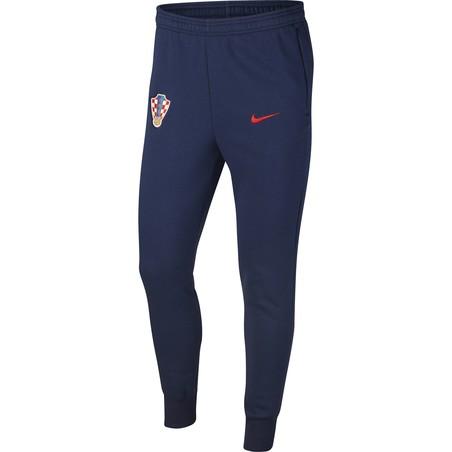 Pantalon survêtement Croatie GFA Fleece bleu 2020