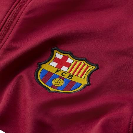 Sweat zippé FC Barcelone rouge 2020/21