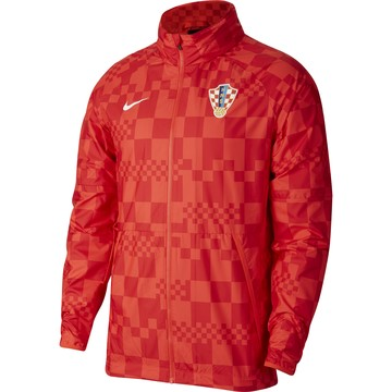 Veste imperméable Croatie rouge 2020