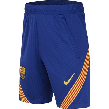 Short entraînement junior FC Barcelone bleu 2020/21