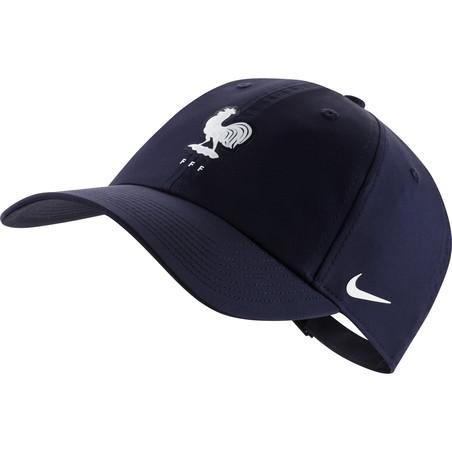 Casquette Equipe de France Heritage86 bleu 2020