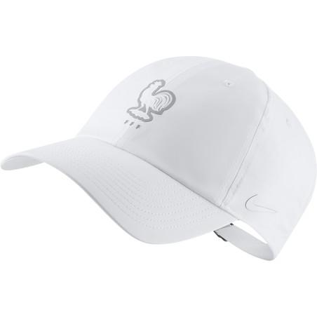 Casquette Equipe de France Heritage86 blanc 2020