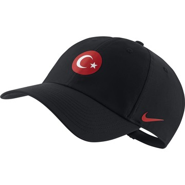 Casquette Turquie Heritage86 noir rouge 2020