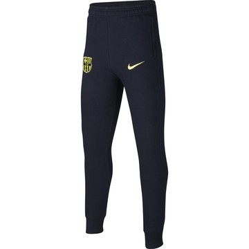 Pantalon survêtement junior FC Barcelone GFA Fleece noir jaune 2019/20