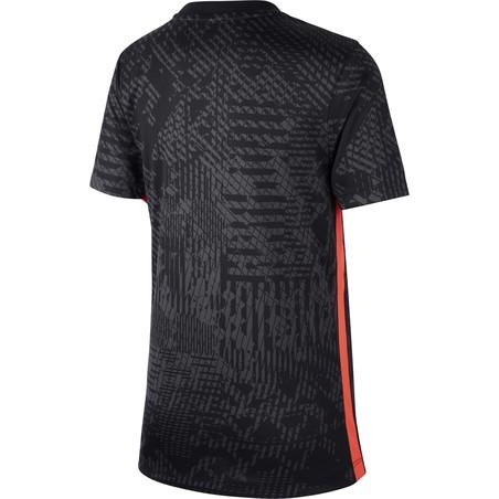 Maillot entraînement junior Neymar noir rouge 2020/21