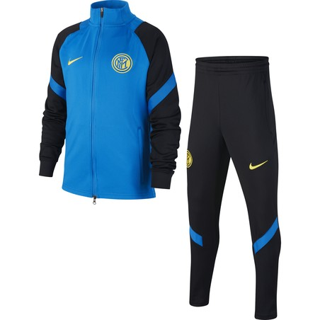 Ensemble survêtement junior Inter Milan bleu noir 2020/21