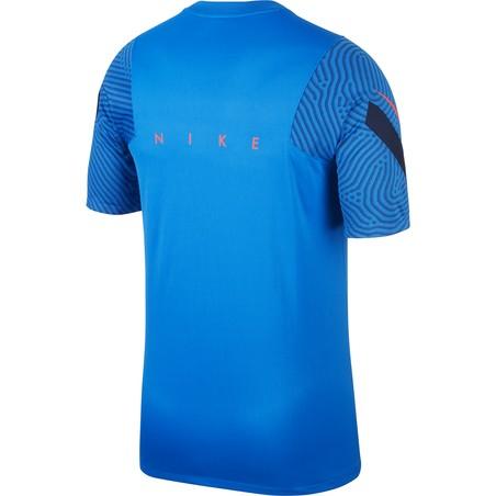 Maillot entraînement Nike Strike bleu 2020/21