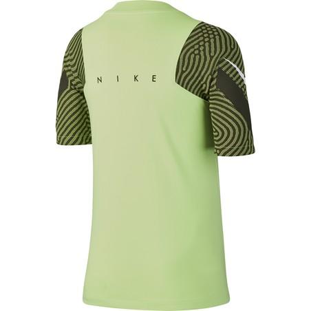 Maillot entraînement junior Nike Strike vert