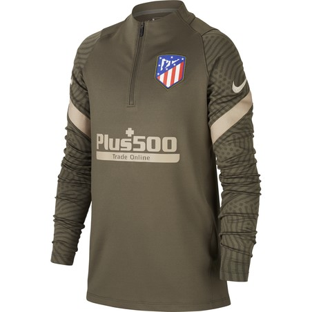 Sweat zippé junior Atlético Madrid vert 2020/21
