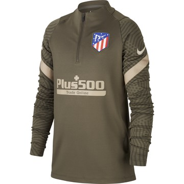 Sweat zippé junior Atlético Madrid vert 2020/21