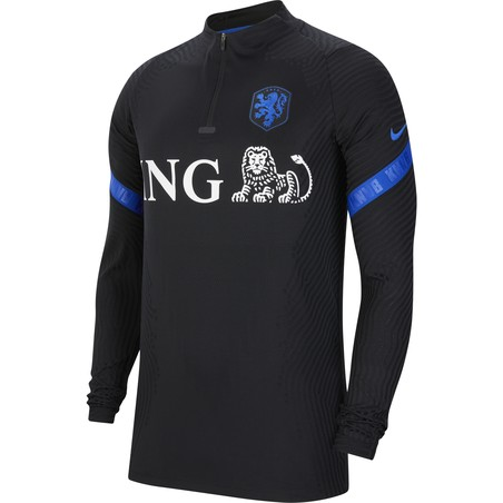 Sweat zippé Pays Bas VaporKnit noir bleu 2020