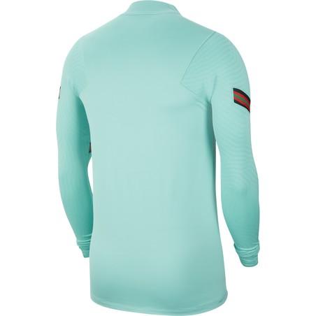 Sweat zippé Portugal bleu 2020