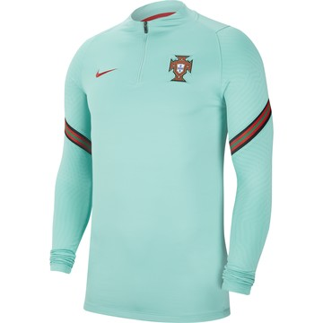 Sweat zippé Portugal bleu 2020