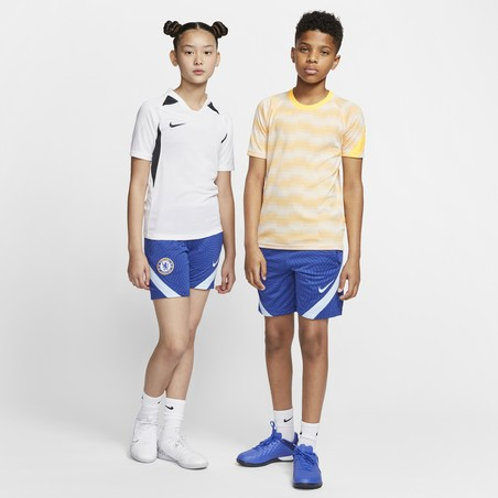 Short entraînement junior Chelsea bleu 2020/21