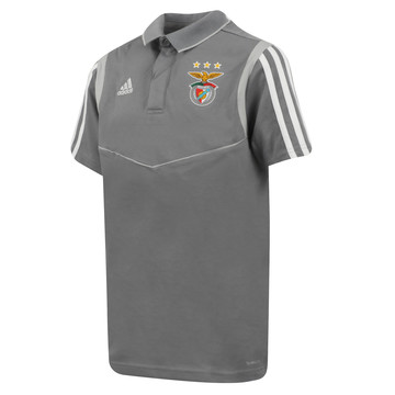 Polo junior Benfica gris 2019/20
