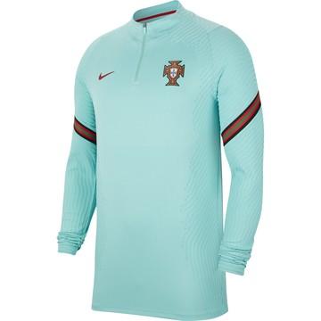 Sweat zippé Portugal VaporKnit bleu 2020