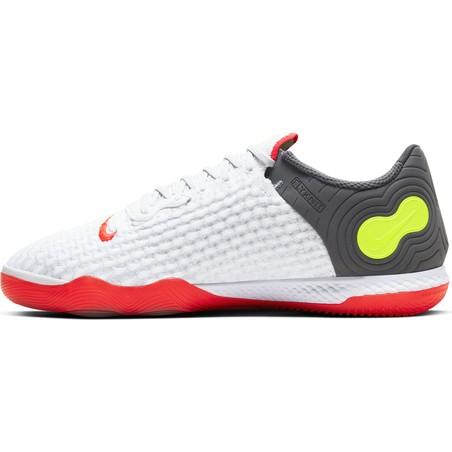 Nike React Gato gris rouge