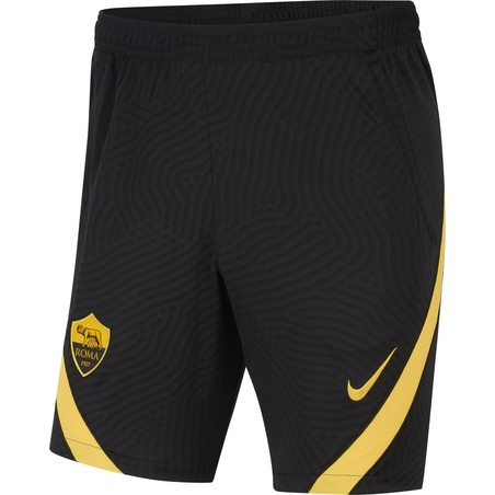 Short entraînement AS Roma noir jaune 2020/21