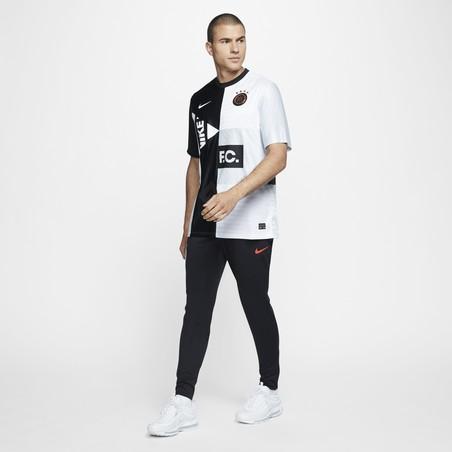 Pantalon survêtement Nike F.C. noir rouge