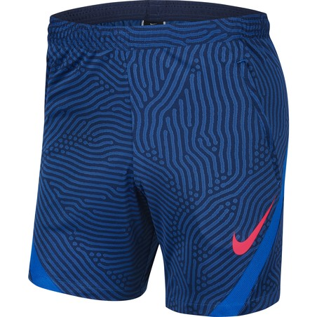 Short entraînement Nike Strike bleu 2020/21