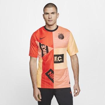 Maillot Nike F.C. rouge orange