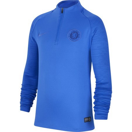 Sweat zippé junior Chelsea bleu 2019/20