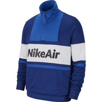 Sweat zippé Nike Air bleu blanc